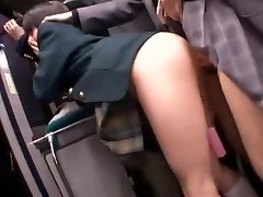 Best Japanese whore Natsu Aoi, Yuu Shinoda, Hikaru Yuki in Incredible Masturbation, Lesbian JAV clip