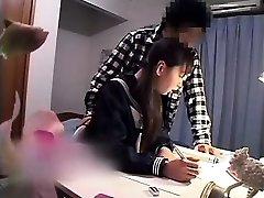 Alluring Oriental babe has her boyfriend plowing her tight