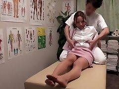 Chisato Ayukawa, Nao Aijima in OL Professional Massage Clinic 15 part 1