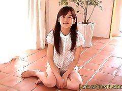 Japanese teenie pussylicked before facial