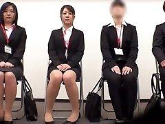 Impressive Japanese chick Minami Kashii, Sena Kojima, Riina Yoshimi in Hottest casting, office JAV scene