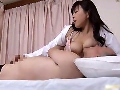 Asian doctor is horny for cock