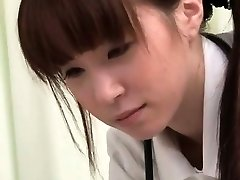 Watch how this Chinese nurse gets so horny part6