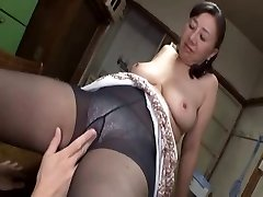 Asian mature sweetie steaming hump with a horny young boy