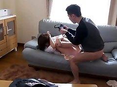 Japanese Stepmom Fujisaki Used And Abused