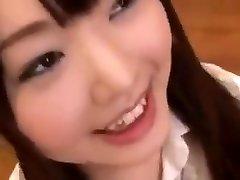 Cute Japanese Student bukkake