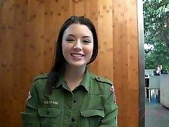 ATKGirlfriends video: Virtuálne Dátum s kórejčina a ruština krásy Daisy Letá