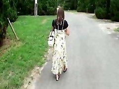 Grávida Japonês de Beleza Tem a porra Vagabundos