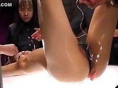 Hottest homemade Group Sex, BDSM sex clamp