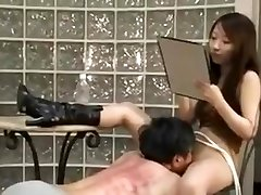 Chinese mistress spank