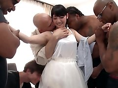 Rei Mizuna in Rei Does Her First Interracial Gang-bang - TeensOfTokyo