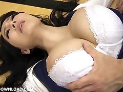 Giant busty chinese babe