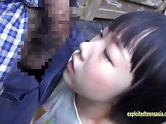 Veľmi Roztomilý Rin Aoki, Jeden Z jej Prvých Filmov v Prdeli V Vidieku V Poľnohospodár