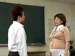 Grávida Japonês babes começar bateu