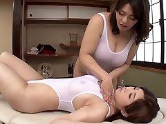 Horny Japanese female in Best Massage, HD JAV movie