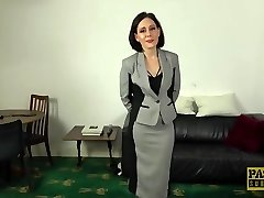 PASCALSSUBSLUTS - Trendy UK Milf Belle OHara submits to dom