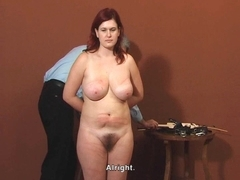 Slavegirl's Elite Agony Castings - Stella (25 years)