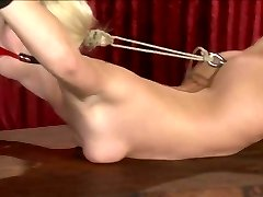 pretty blond slave used 2 of 3