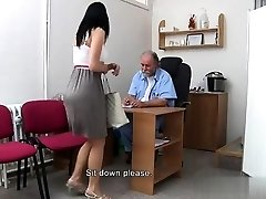 Natural tits harsh gangbang
