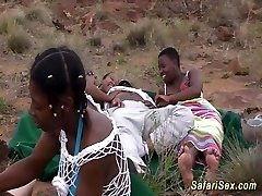 african safari groupsex plow orgy
