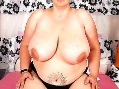 Big, busty BBW pounds her phat ass into some cock!