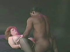 Huge Babe Fucking and Sucking Big Black Dick