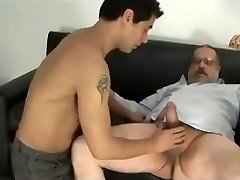 Daddy otter fuck younger guy
