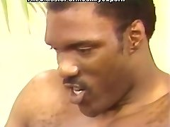 Towheaded pierced by black peckers