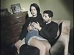 Monica Roccaforte poked by her priest