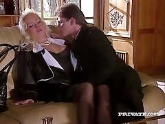 Silvia Saint Humps the Lawyer and Drains His Jizm