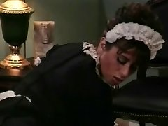 Old-school Vignette Heather Lee As A Maid