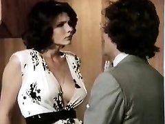 Veronica Hart, Lisa De Leeuw, John Alderman in old school porn