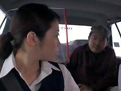 Crazy Japanese chick Nao Mizuki, Hikari Hino in Insatiable Truck, Cunnilingus JAV movie