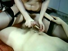 Sexy Vintage vid of hot fuck-fest stockings and fur