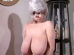 Busty Big-titted Morgan naked from Deadly Weapons