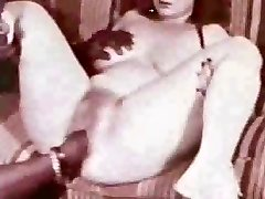 Excellent vintage internal cumshot