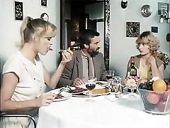 Classical porn from 1981 with these wild babes getting fucked