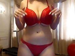 Trampy sexy history teacher on cam