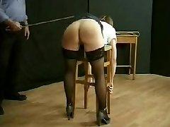 BDSM Vintage Caning