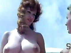 Vintage nudist camp vignette