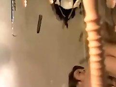 Vintage jokey horror movie parody with dildo