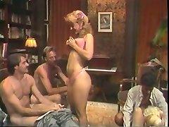 Super Hot retro group sex action with Nina Hartley