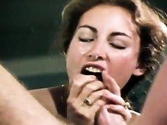 Loni Sanders Nejlepší Vintage Kouření-Deepthroat