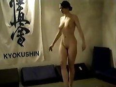 Naked Dark-haired Catfight