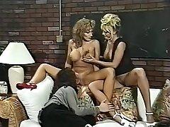 Best pornstars Menage Trois and Anna Amore in outstanding 3 ways, nurse xxx movie