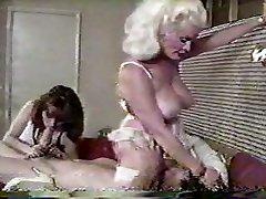 Helga Sven pussy-smothering John Holmes - smurf