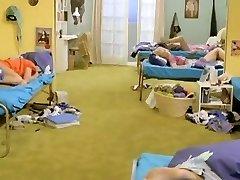 Six Swedish dolls in a boarding college