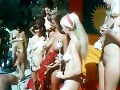 Miss Universe Nudistické 1967 Vintage