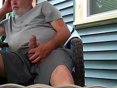 Str8 Daddy Play in Backyard