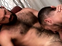 Gay dick hungry bears munching pole